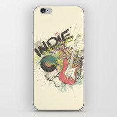 It's Indie Rock'n'Roll iPhone & iPod Skin