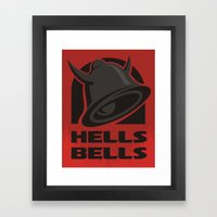 Hells Bells Framed Art Print