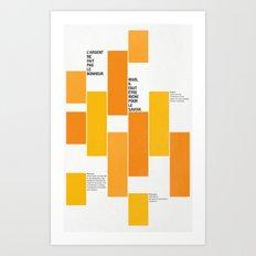 Axiome Art Print