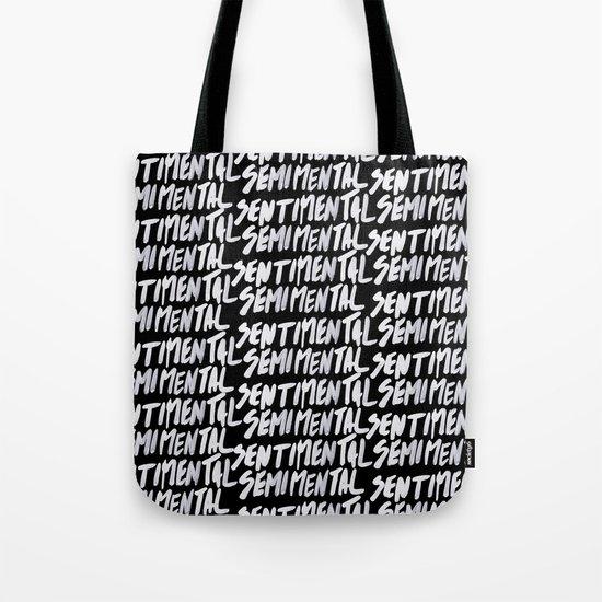 Semimental Tote Bag