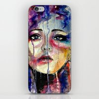 Colourful Tears iPhone & iPod Skin
