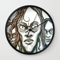 Stand Together Wall Clock