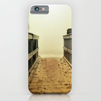 iPhone & iPod Case featuring Foggy Beach by Thephotomomma