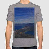 South Lake Tahoe Mens Fitted Tee Athletic Grey SMALL