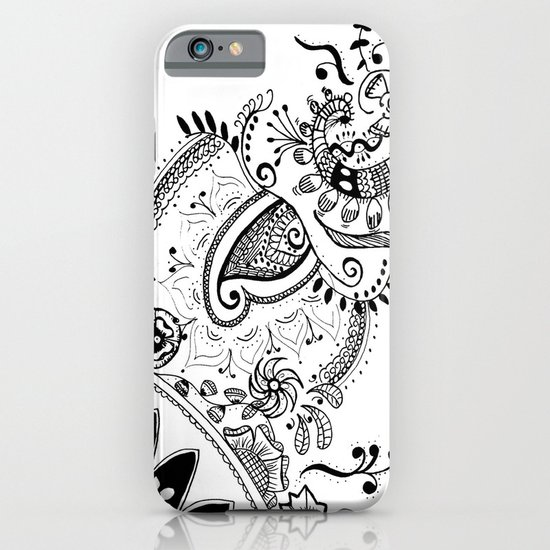 Henna Motif iPhone & iPod Case