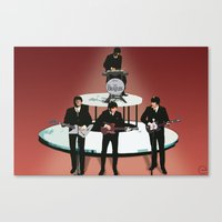 Rock Band Canvas Print