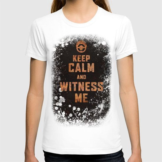 Witness me t shirt by studio vii society6 for Talk texan to me shirt