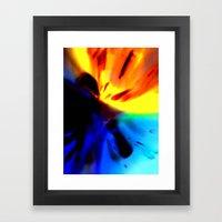 Macro_Exp Framed Art Print