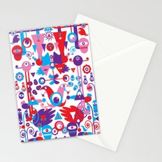 Little Monsters World Stationery Cards