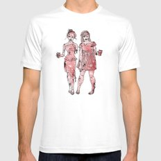 Zombie Bridesmaids Mens Fitted Tee White SMALL