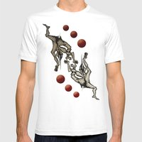 Jugglers Mens Fitted Tee White SMALL