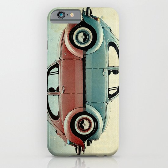 vw  ying and yang iPhone & iPod Case