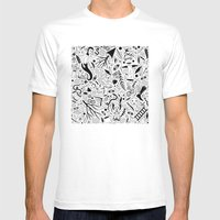 Curious Collection No. 9 Mens Fitted Tee White SMALL