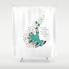 Imaginary Friends Are The Best Friends Shower Curtain