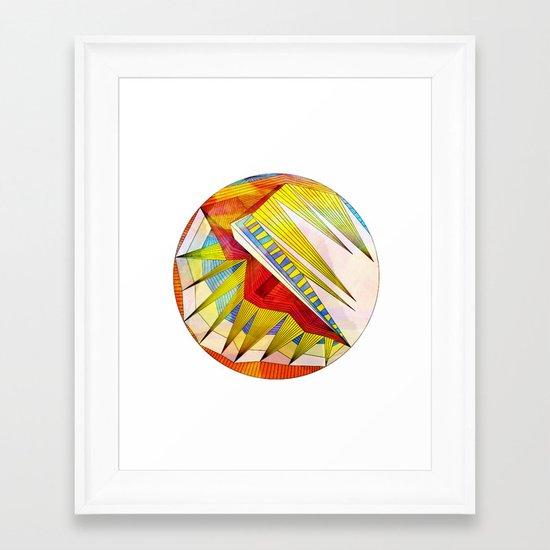 Say It Framed Art Print