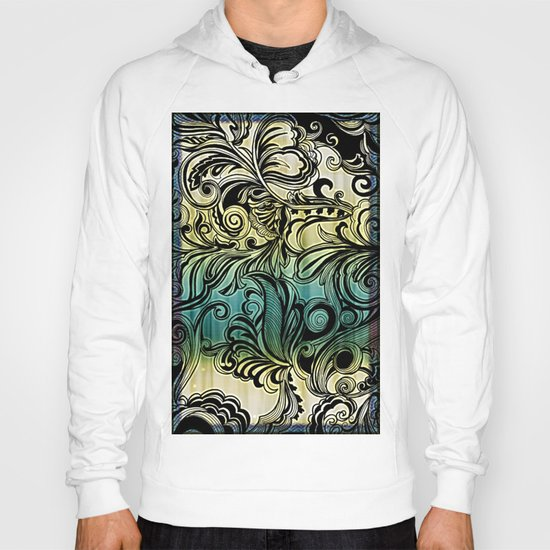 Swirl and Curl Hoody