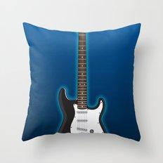 Rock my blue! Throw Pillow