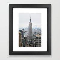 Dreamy NYC Framed Art Print