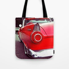 Nostalgic red Tote Bag