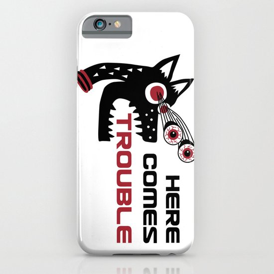 Here Comes Trouble 5 iPhone & iPod Case