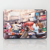 India New Delhi Paharganj 5577 iPad Case