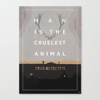 Poster True Detective Canvas Print