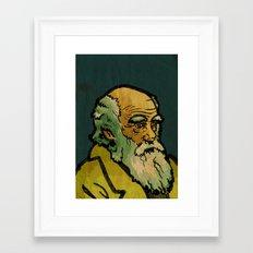 Charles Robert Darwin Framed Art Print