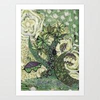 jungle 2 Art Print