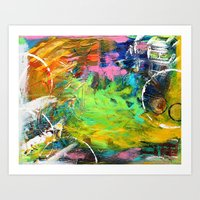 Let's Meet  Art Print