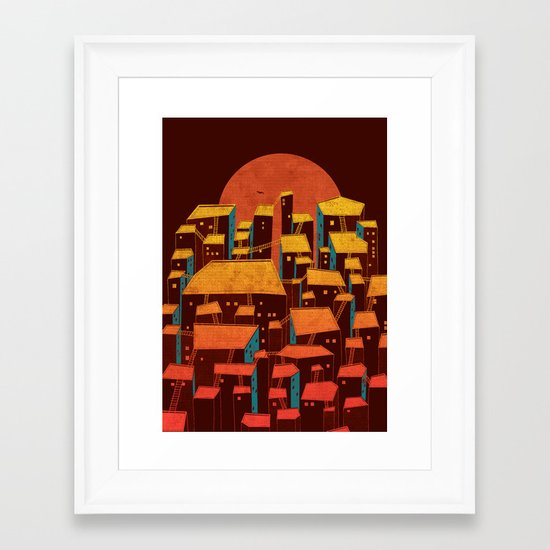 Urbano Framed Art Print