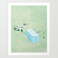 Public Viewing Art Print