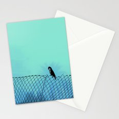 thoughtful parrot  Stationery Cards