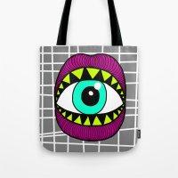 Eye'm Gonna Eat You Tote Bag