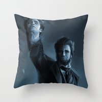 ABE THE HUNTER Throw Pillow