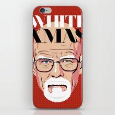 White Christmas iPhone & iPod Skin