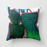 I Hate Mondays... Throw Pillow