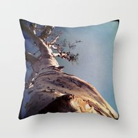 Wisdom That Touches the Sky Throw Pillow