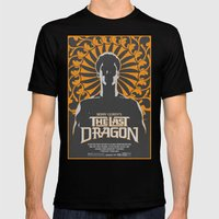 The Last Dragon Mens Fitted Tee Black SMALL