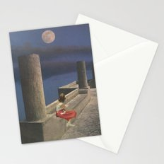 This Lunar Beauty Stationery Cards