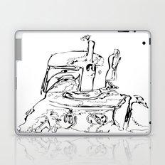 The Hunter B&W Laptop & iPad Skin