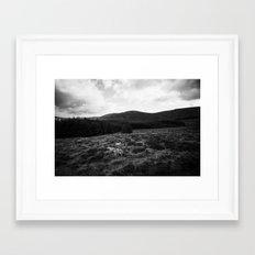 Irish sheep Framed Art Print