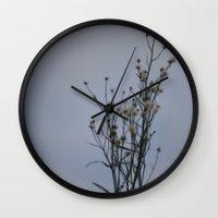 Autumn-Dandelion Wall Clock