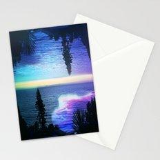 Circle Sunset Stationery Cards