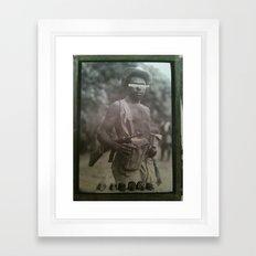Guerilla Clone B-Side Framed Art Print