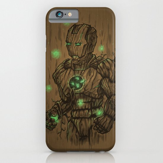 Wooden Man iPhone & iPod Case