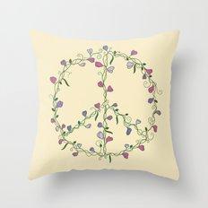 Sweet Peace Throw Pillow