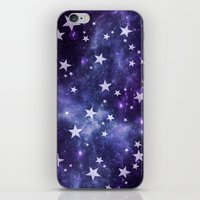 ALL STARS PURPLE iPhone & iPod Skin