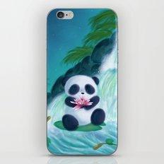 Panda Lilly iPhone & iPod Skin