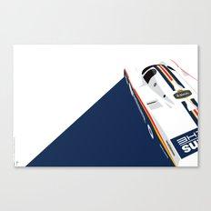 Porsche 962C, 1985 Canvas Print