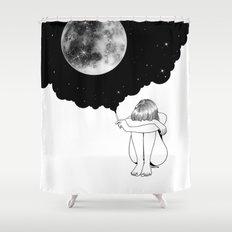 3 Minute Galaxy Shower Curtain